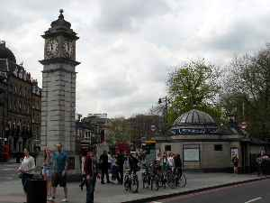 Clapham: District within London Borough of Lambeth, London, England and some areas in the London Borough of Wandsworth