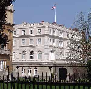 Clarence House: Royal residence in London, situated on The Mall, in the City of Westminster