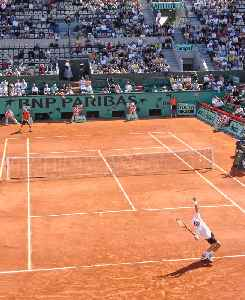 Clay court: Type of tennis court