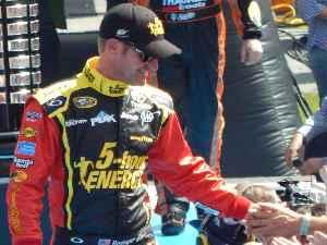 Clint Bowyer: American racecar driver