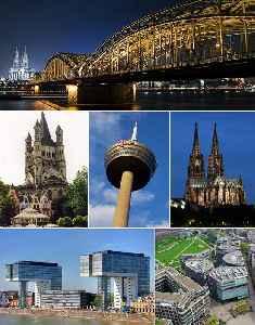 Cologne: City in North Rhine-Westphalia, Germany