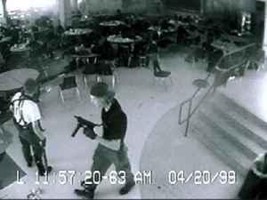 Columbine High School massacre: School shooting at Columbine High School in Columbine, Colorado, United States on April 20, 1999