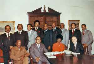 Congressional Black Caucus: Caucus comprising most African American members of the United States Congress
