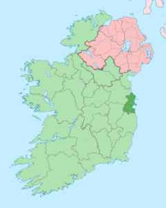 County Dublin: One of the 32 traditional counties of Ireland