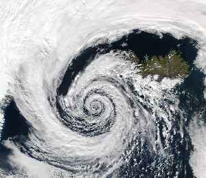 Cyclone: Large scale air mass that rotates around a strong center of low pressure
