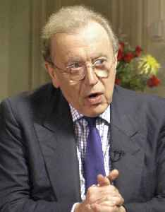 David Frost: English television host, media personality, journalist, comedian, and writer