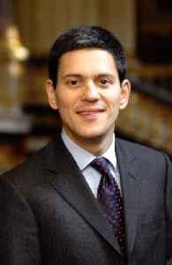 David Miliband: British politician