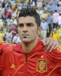 David Villa: Spanish footballer