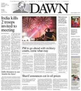 Dawn (newspaper): Daily English-language newspaper published from Pakistan