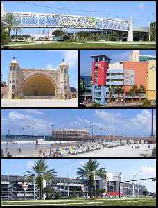 Daytona Beach, Florida: City in Florida, United States