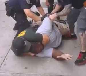 Death of Eric Garner: Death of African American man due to chokehold from police officer