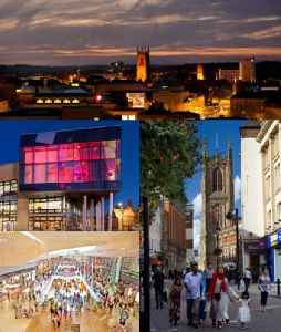 Derby: City and Unitary authority area