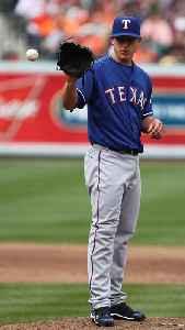 Derek Holland: American baseball player