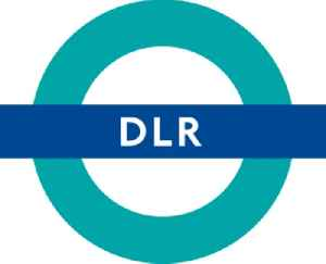 Docklands Light Railway: Automated light metro system in the Docklands area of London, England