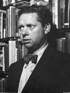 Dylan Thomas: Welsh poet and writer