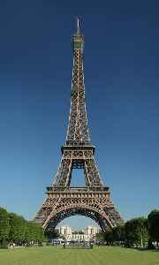 Eiffel Tower: Tower located on the Champ de Mars in Paris, France