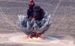 Explosion: Sudden release of heat and gas