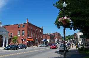 Farmington, Maine: Town in Maine, United States