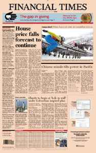 Financial Times: London-based international daily newspaper