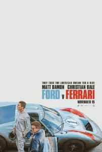 Ford v Ferrari: 2019 biographical drama film directed by James Mangold