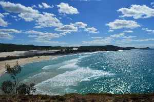 Fraser Island: Island located along the southern coast of Queensland, Australia