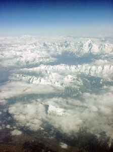 French Alps: Part of the Alps mountain range in France
