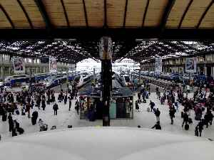 Gare de Lyon: Train station in Paris, France