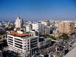 Gaza City: City in Gaza Governorate