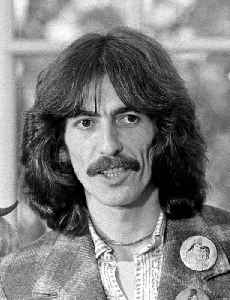 George Harrison: British musician and lead guitarist of the Beatles