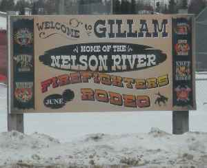 Gillam, Manitoba: Town in Manitoba, Canada
