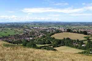 Glastonbury: Town in Somerset, England