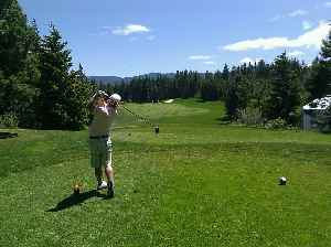 Golf: Sport in which players attempt to hit a ball with a club into a goal using a minimum number of shots