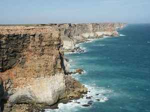 Great Australian Bight: Oceanic bight off the central and western portions of the southern coastline of mainland Australia