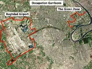 Green Zone: Area in Baghdad, Iraq