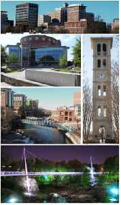 Greenville, South Carolina: City in South Carolina
