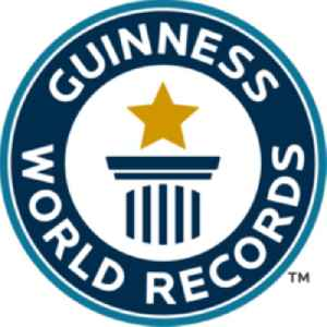 Guinness World Records: Reference book listing world records
