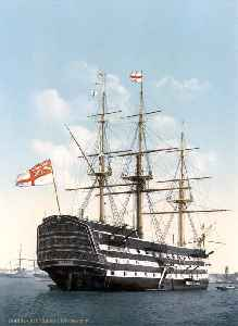 HMS Victory: First-rate 1765 ship of the line of the Royal Navy