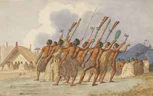 Haka: Traditional chanting dance of the Māori people of New Zealand