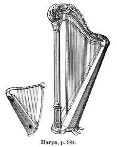 Harp: Class of musical instruments