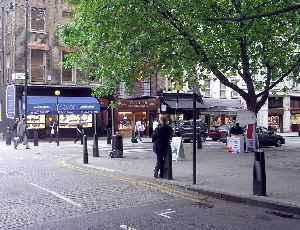 Hatton Garden: Street and area in London, England