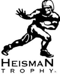 Heisman Trophy: Annual award for outstanding college football player