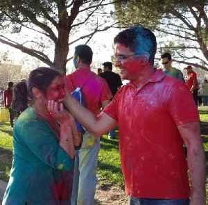Holi: Hindu spring festival of colours