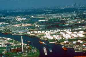 Houston Ship Channel: Canal