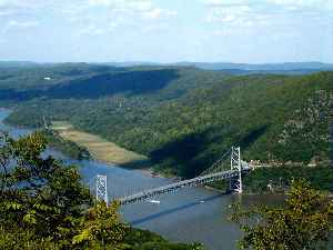 Hudson River: River in New York State