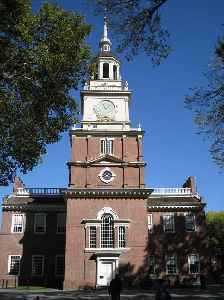Independence Hall: World heritage site in Philadelphia, USA