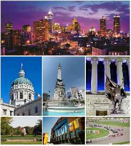 Indianapolis: State capital and Consolidated city-county in the United States