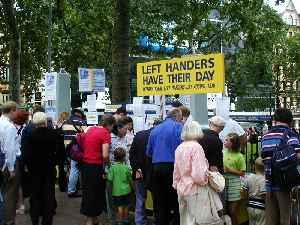 International Lefthanders Day: World day