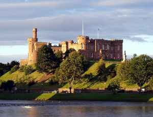 Inverness: City in the Scottish Highlands, Scotland, UK
