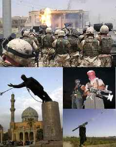 Iraq War: War which started on 20 March 2003, based in Iraq