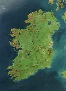 Ireland: Island in north-west Europe, 20th largest in world, politically divided into the Republic of Ireland and Northern Ireland (a part of the UK)